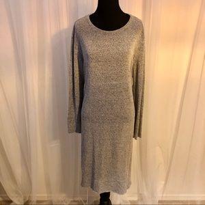Zara Side Split Knit Dress size L